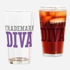 Trademark DIVA Drinking Glass