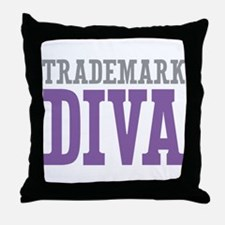 Trademark DIVA Throw Pillow