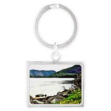 Scenic Newfoundland Landscape Keychain