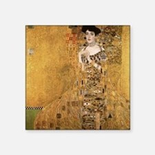 "klimt Adele Bloch Bauer 2 Square Sticker 3"" x 3"""