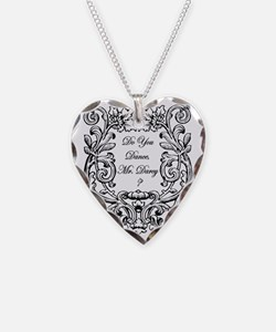 Do you dance, Mr. Darcy? Necklace