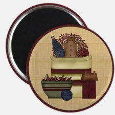 prim crock ornament Magnet