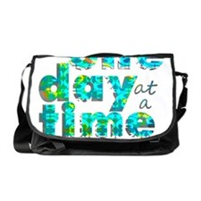 one day text graphic_final Messenger Bag