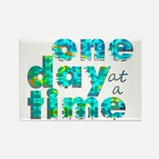 one day text graphic_final Rectangle Magnet