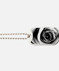 Rose Abstract Dog Tags
