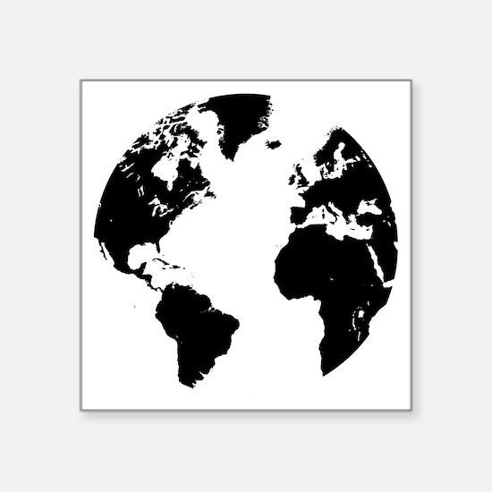 """the world Square Sticker 3"""" x 3"""""""