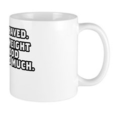 TSHIRTS_WEIGHT_WHITE Mug
