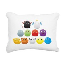 fuzzy one Rectangular Canvas Pillow