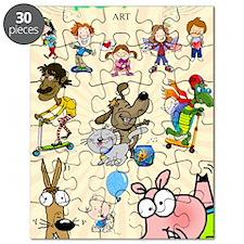 Katrina Art Poster Puzzle