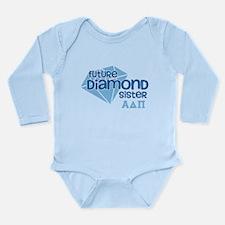 Alpha Delta Pi Future Long Sleeve Infant Bodysuit