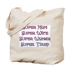 Super Tired Tote Bag