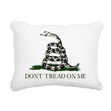 Dont Tread on Me copy Rectangular Canvas Pillow