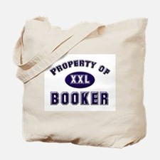 Property of booker Tote Bag