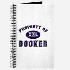 Property of booker Journal