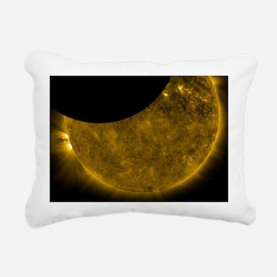 SunAndMoonLT Rectangular Canvas Pillow