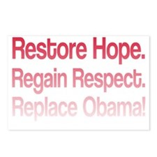 Restore Hope 2 Postcards (Package of 8)