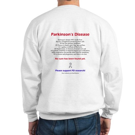 Parkinson Facts (backprint) Sweatshirt