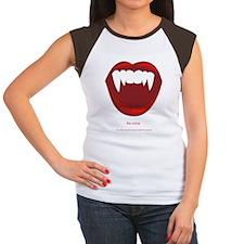 THE VAMP Women's Cap Sleeve T-Shirt