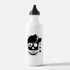 Girls Pirate Skull Water Bottle