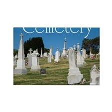 CAL2_COVER_Cemetery_040 Rectangle Magnet