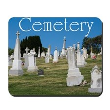 CAL2_COVER_Cemetery_040 Mousepad