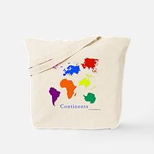 Continents-10x10_apparel Tote Bag