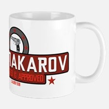 9mm Makarov White Mug