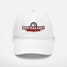9mm Makarov White Baseball Baseball Cap