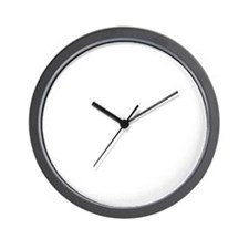 Resistance is not futile (white) Wall Clock