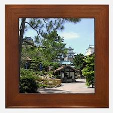 Japanese Scene-Pix8 Framed Tile