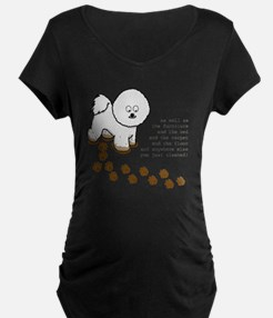 footprints-bichon copy.gif T-Shirt