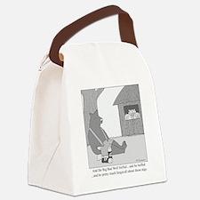 Big Bad Wolf Canvas Lunch Bag