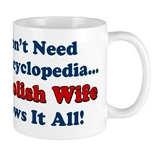 Encyclopedia Polish Wife Mug