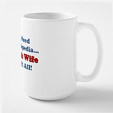 Encyclopedia Polish Wife Large Mug