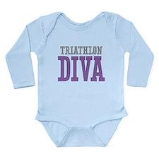 Triathlon DIVA Long Sleeve Infant Bodysuit