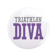"Triathlon DIVA 3.5"" Button"