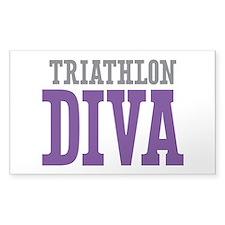 Triathlon DIVA Decal