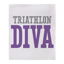 Triathlon DIVA Throw Blanket