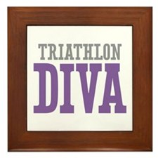 Triathlon DIVA Framed Tile
