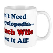 My Czech Wife Knows It All Small Mug