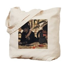 degas at the cafe Tote Bag