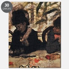 degas at the cafe Puzzle