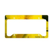 BeeCanna_laptop License Plate Holder