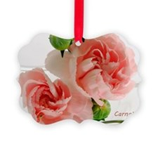 PinkCarnations_laptop Ornament