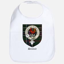 Sinclair Clan Crest Tartan Bib