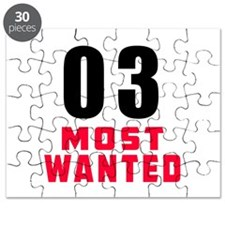 03 most wanted Puzzle
