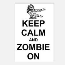 Keep Calm Zombie1 Postcards (Package of 8)