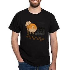 footprints-pomeranian copy.gif T-Shirt