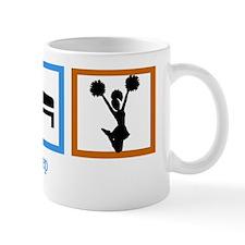 eatsleepcheerwh Mug