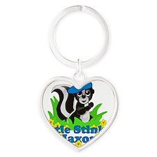jaxon-b-stinker Heart Keychain